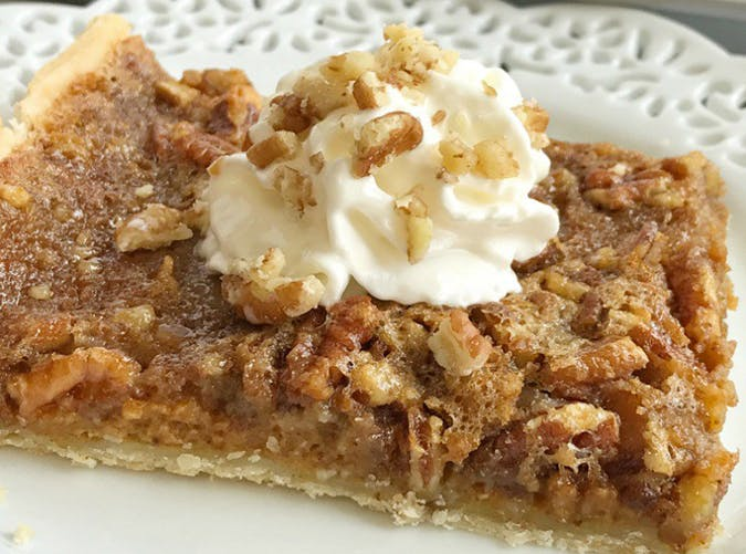 pumpkin pecan slab pie