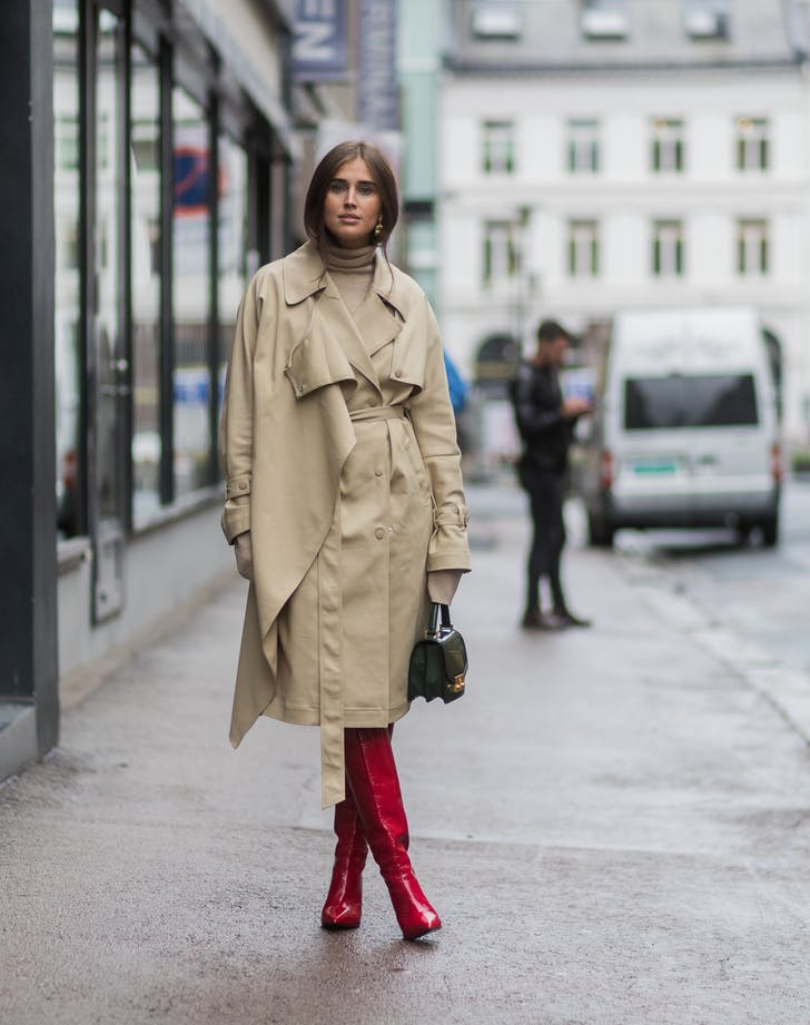 red boots fashion trends to try in 2018