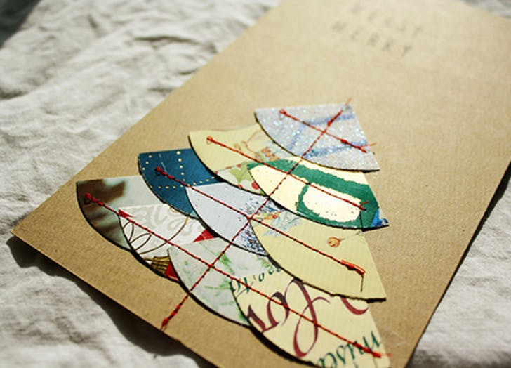 reuse christmas cards 2
