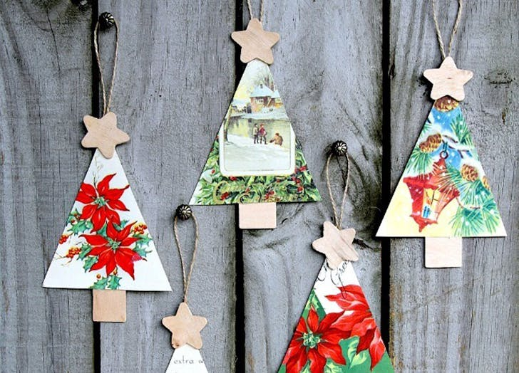 reuse christmas cards 4