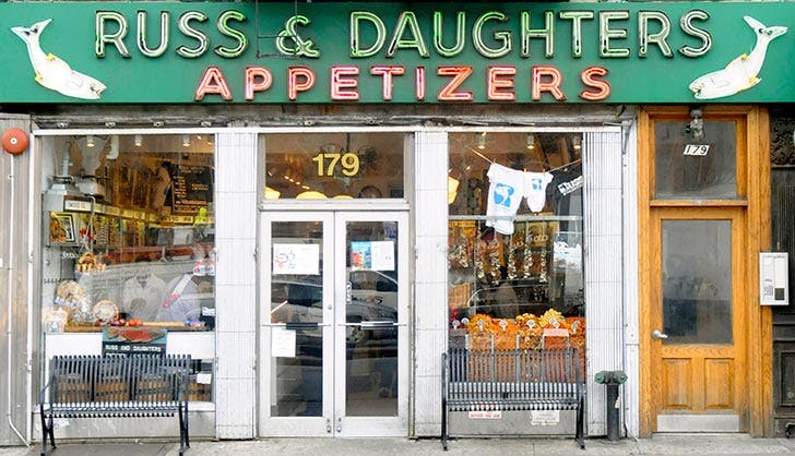 russ and daughters NY
