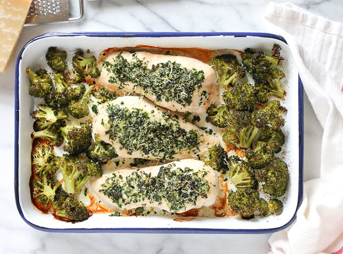 sheet pan parmesan chicken 20