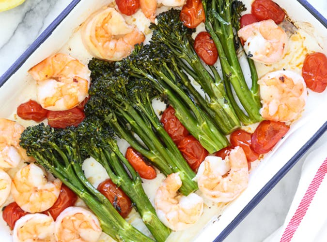sheet pan shrimp broccoli 32