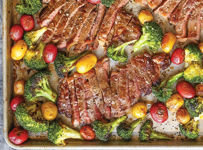 sheet pan steak and veggies 8