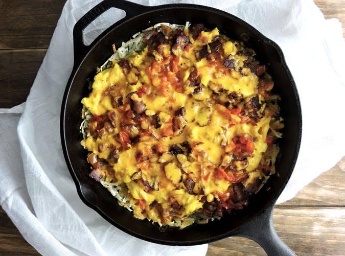 skillet breakfast burrito casserole recipe 501