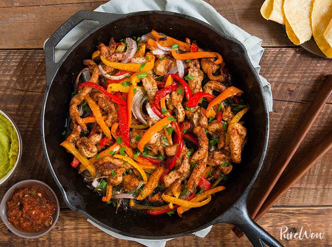 20 Skillet Dinner Recipes Under 500 Calories Purewow
