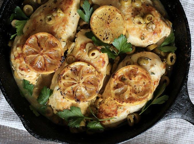 skillet lemon chicken Recipe 501