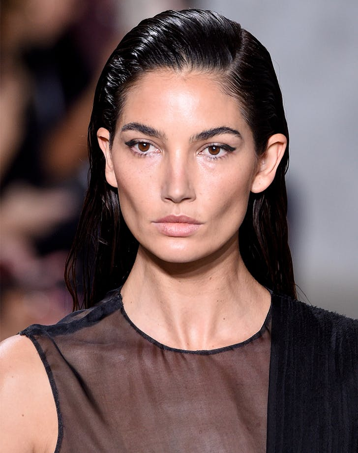 slicked back hair beauty trends to try in 2018 july
