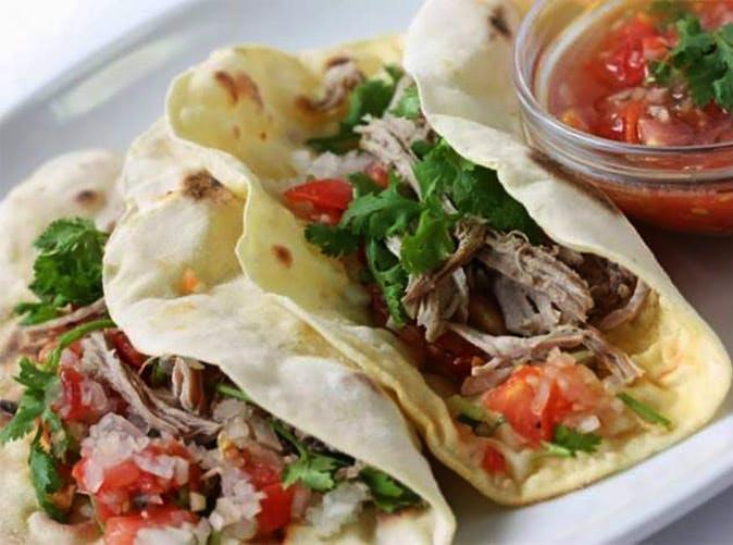 slow cooker pork carnitas under 500 calories