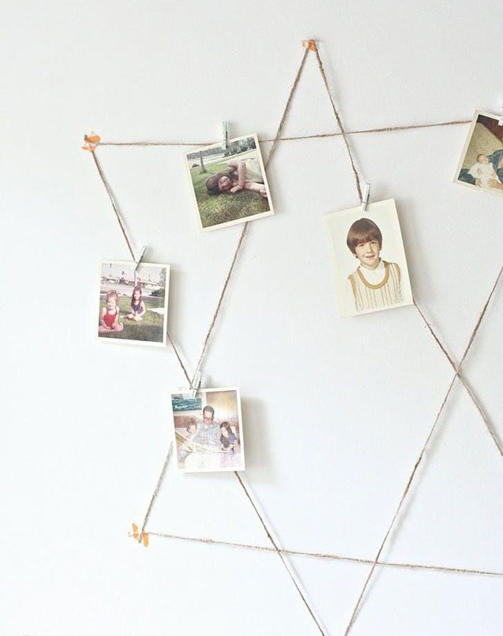 star of david photo holder