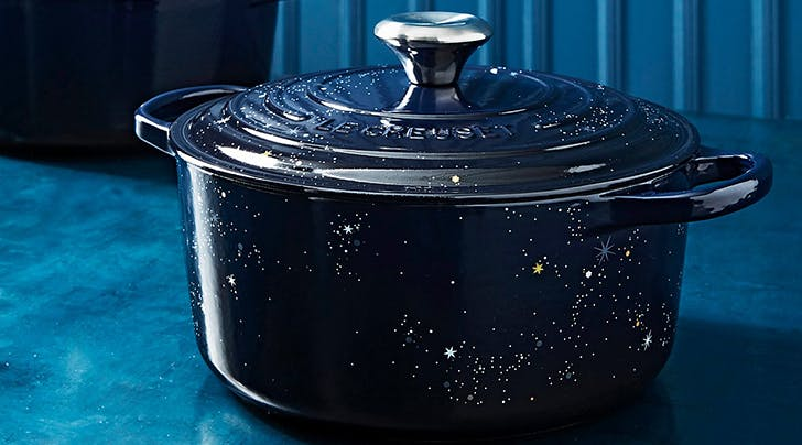 Le Creuset Just Released an Absolutely Magical Dutch Oven Sprinkled with Stars