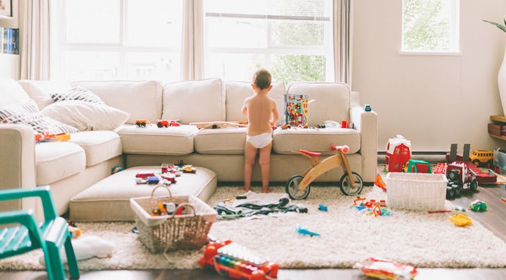 Science Says Too Many Toys Is Bad for Toddlers, but Read This Before You Start Tossing