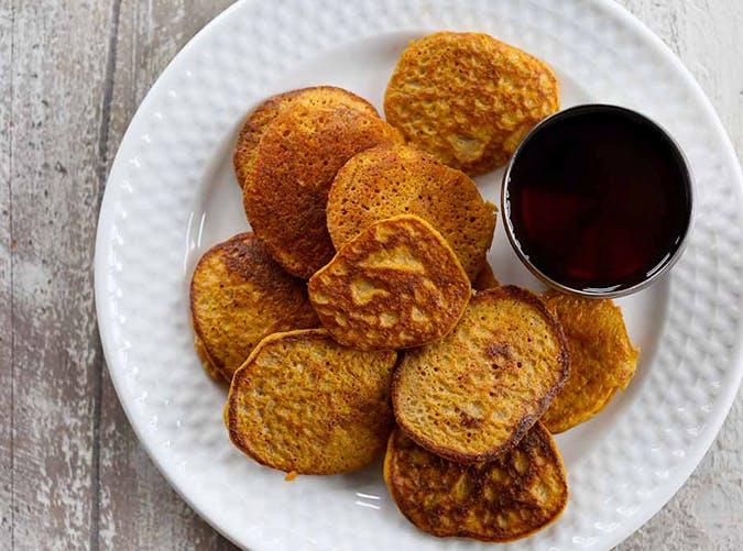 two ingredient sweet potato pancakes