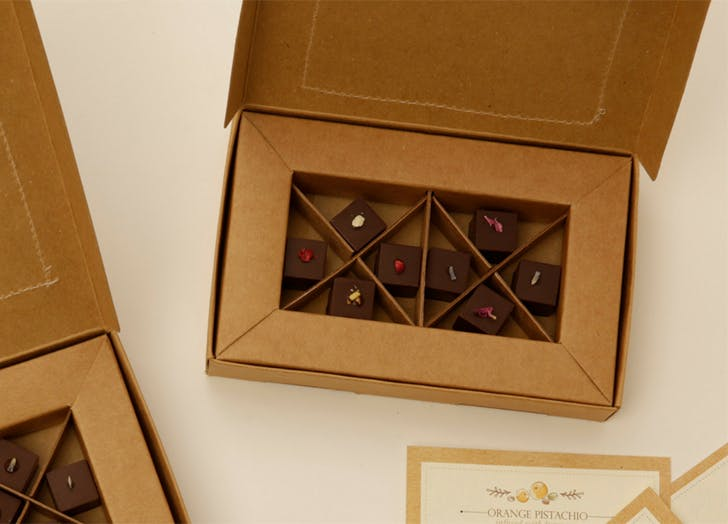 under 25 food gifts truffles