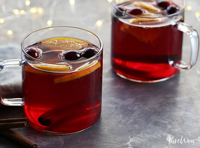 vegan slow cooker cranberry hot toddies