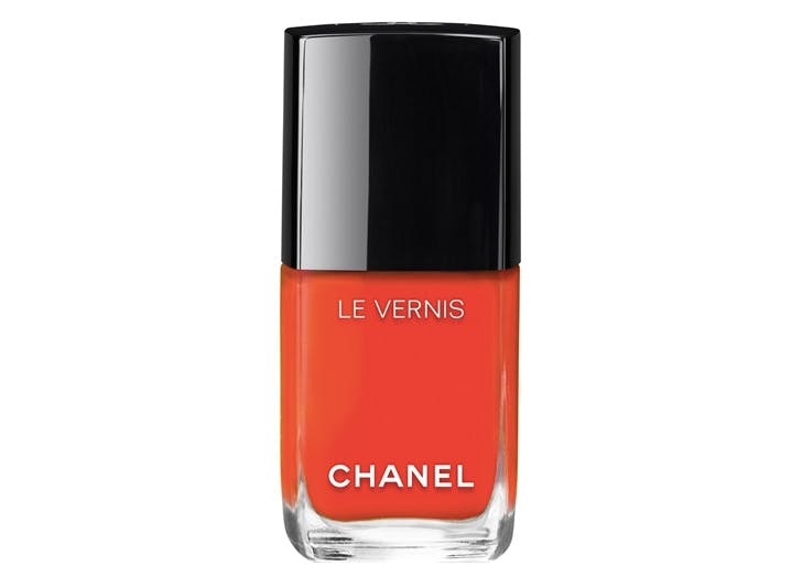 winter nail color chanel