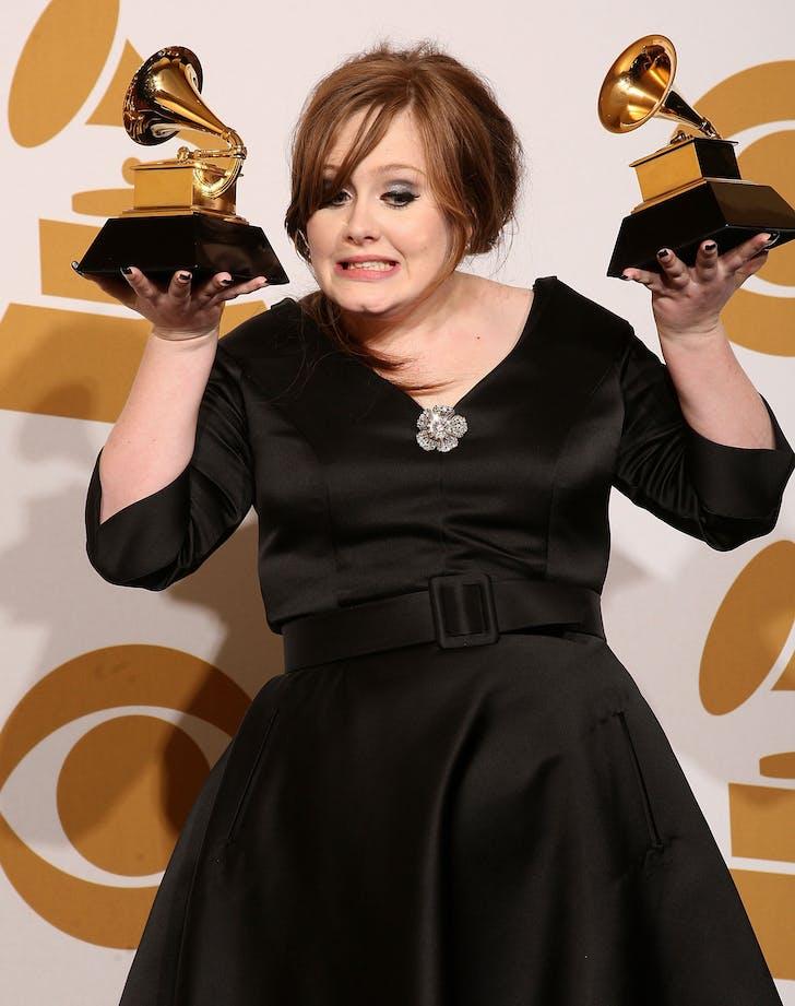 Adele first grammy