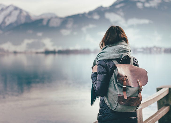 Adventurous women traveling solo