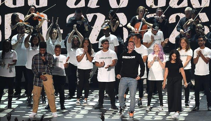 Alessia Cara Khalid Logic 2018 Grammys