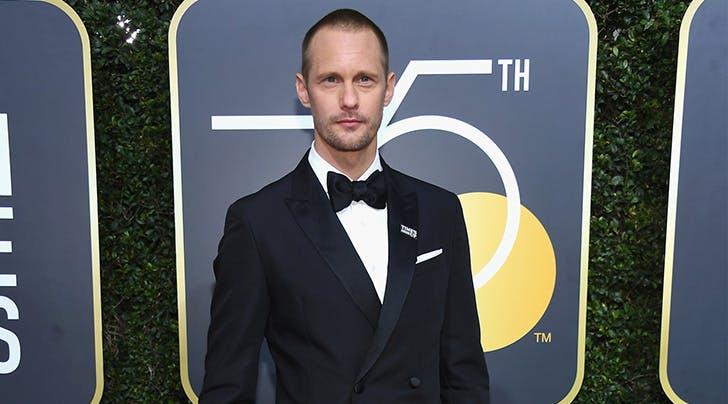 Golden Globes 2018: Alexander Skarsgård Named Best Supporting TV Actor