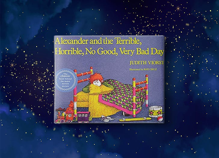 Alexander and the Terrible  Horrible  No Good  Very Bad Day by Judith Viorst bedtime story