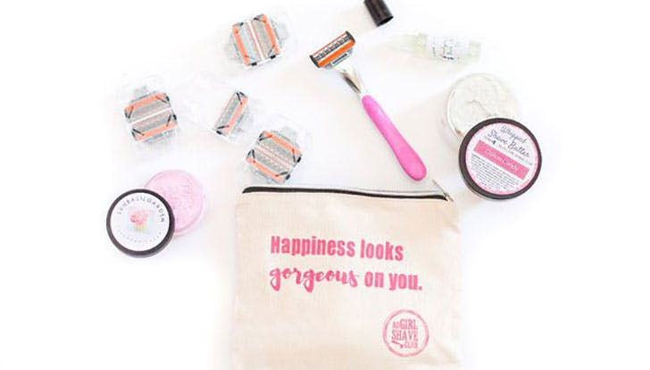 All Girls Shave Club of the month box