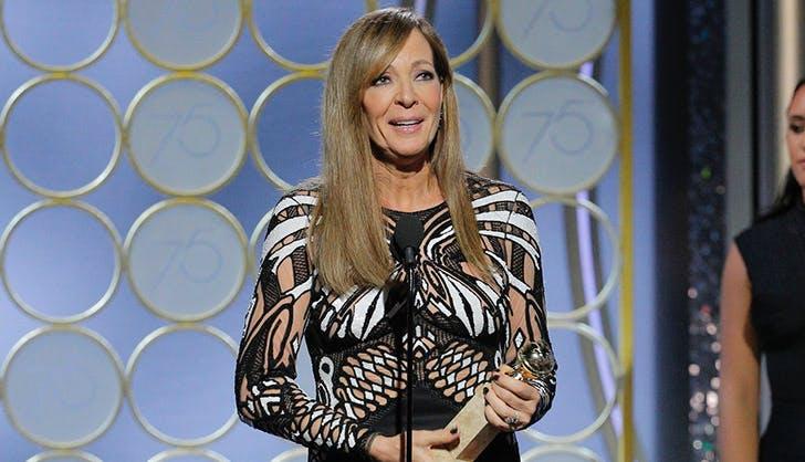 Allison Janney Golden Globes1
