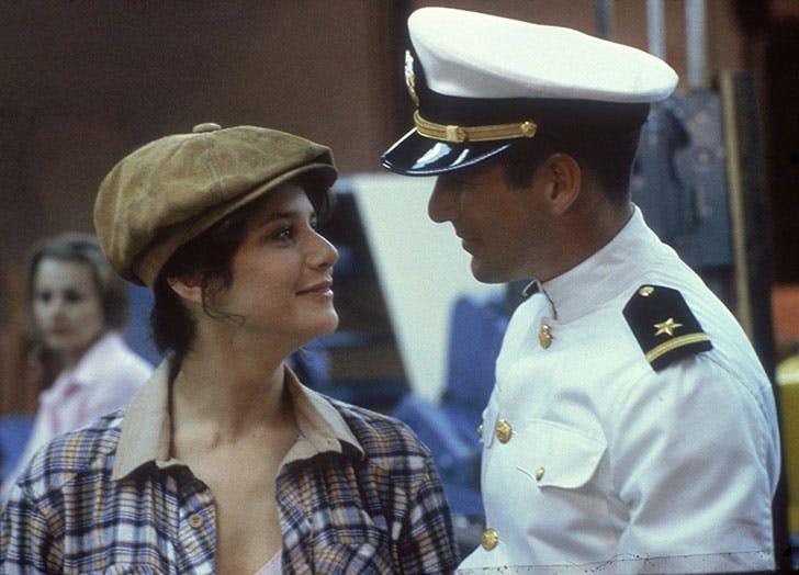 An Officer and a Gentleman film still