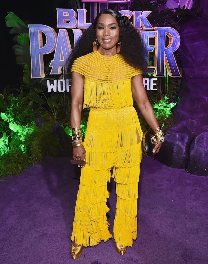 Angela Bassett Black Panther Premiere