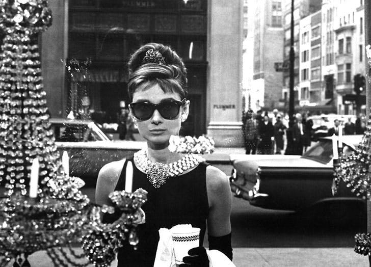 Audrey Hepburn in Breakfast at Tiffany s