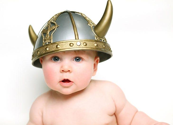 Baby Viking boy