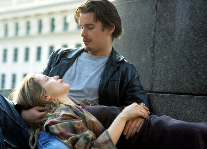 Before Sunrise romantic film shot
