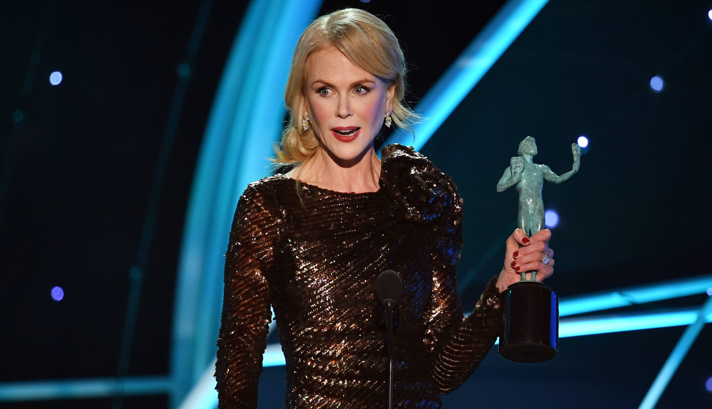 Best SAG Awards moments Nicole Kidman