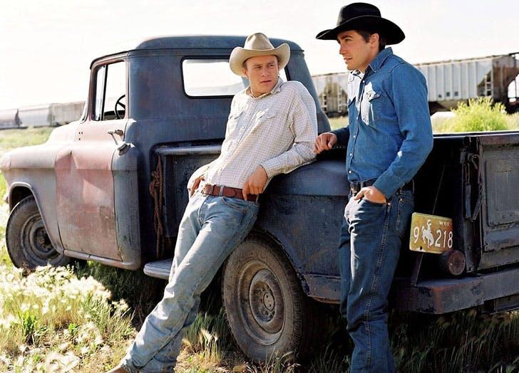Brokeback Mountain film still