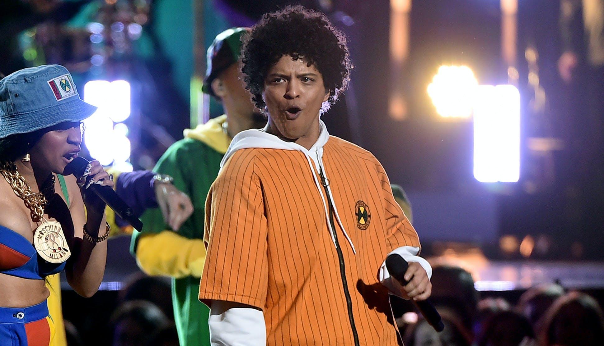 Bruno mars grammy awards