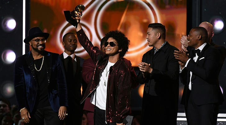 Grammy Awards 2018: Bruno Mars Took Home Record of the Year