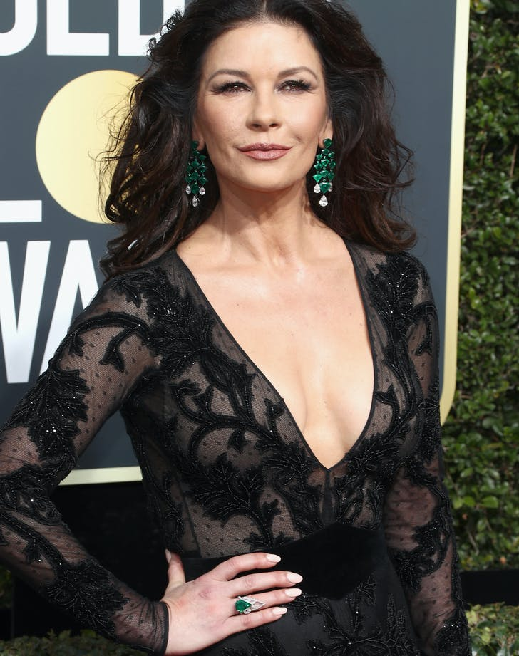 Catherine Zeta Jones Golden Globes 2018