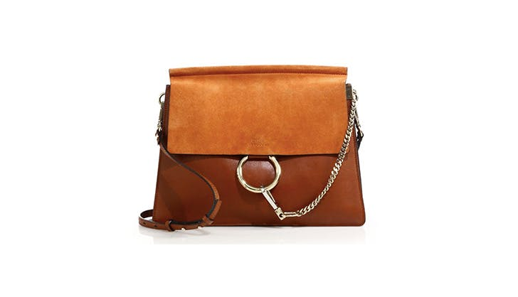 Chloe Medium Leather Satchel