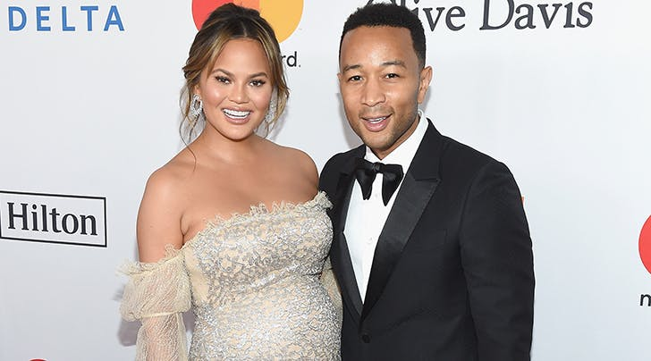Chrissy Teigen & John Legend Donate $200,000 to Time's Up in Honor of This Incredible Group of Women