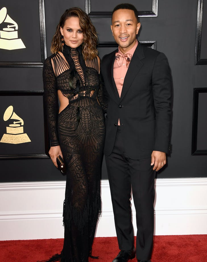 Chrissy Teigen John Legend grammys couple