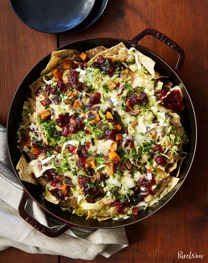 Cranberry sauce brussels sprouts nachos recipe