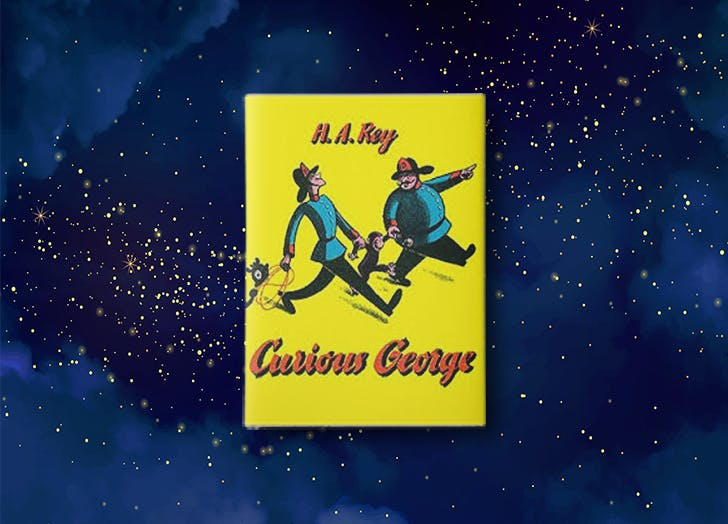 Curious George by H. A. Rey bedtime story book cover