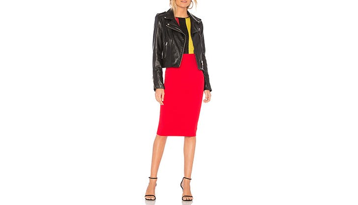 DVF Knit Pencil Skirt