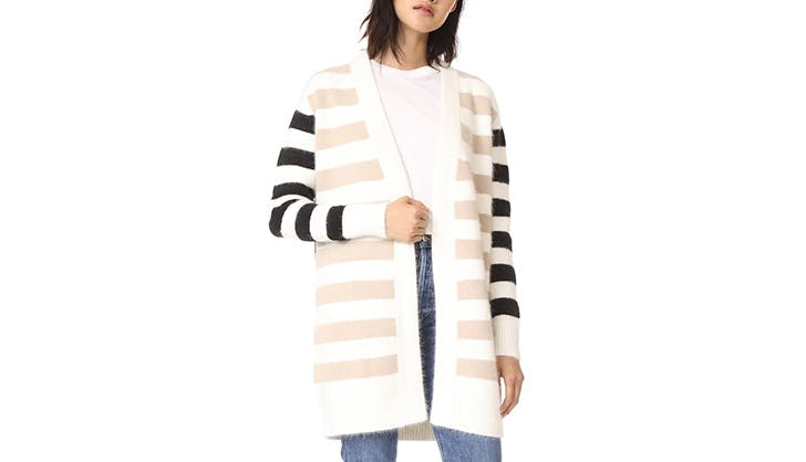 DVF Stripes Cardigan