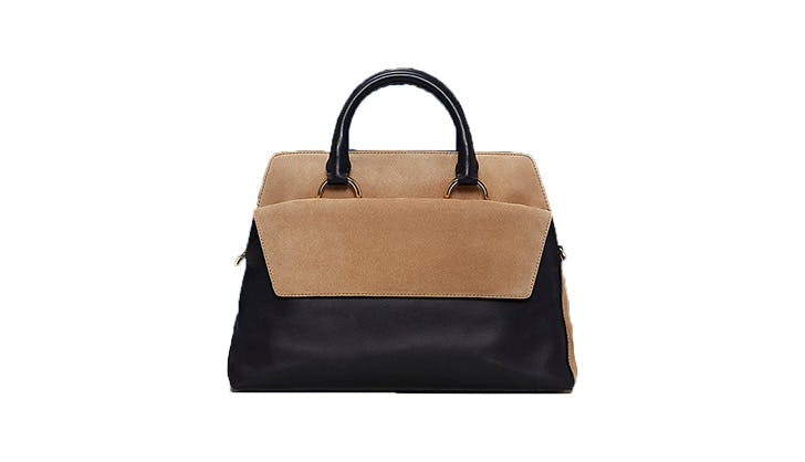 DVF Two Tone Satchel