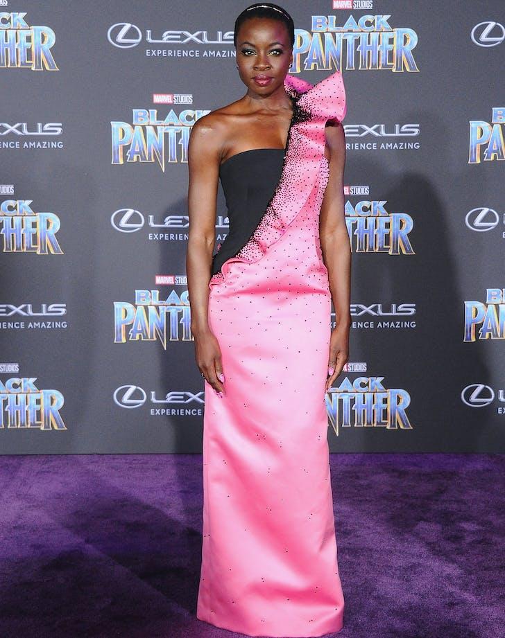 Danai Gurira Black Panther Premiere