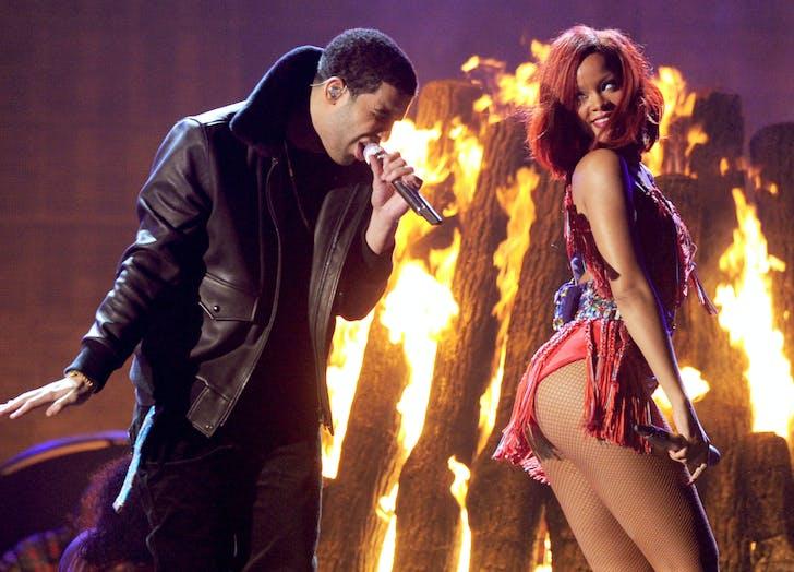 Drake Rihanna Grammys couple