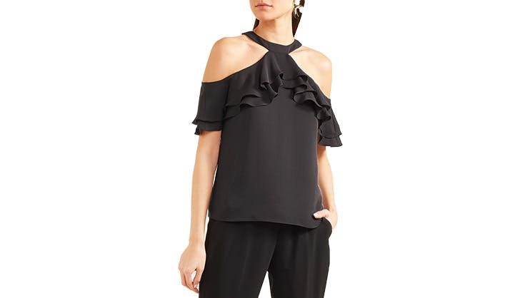 Draper James Cold SHoulder Blouse