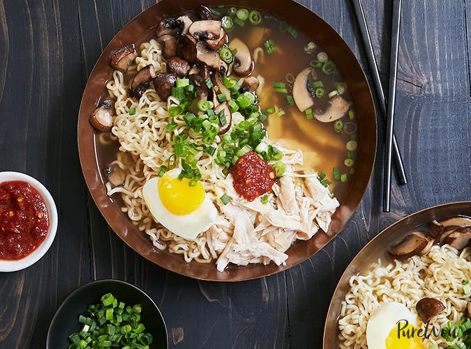 Easy Rotisserie Chicken Ramen recipe