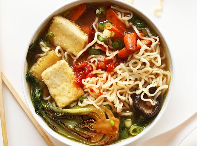 Easy Vegan Ramen recipe